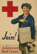 Vintage WW1 American Red Cross Poster